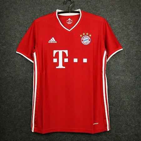 Camisa Bayern Munich 2020-21 (Home-Uniforme 1)