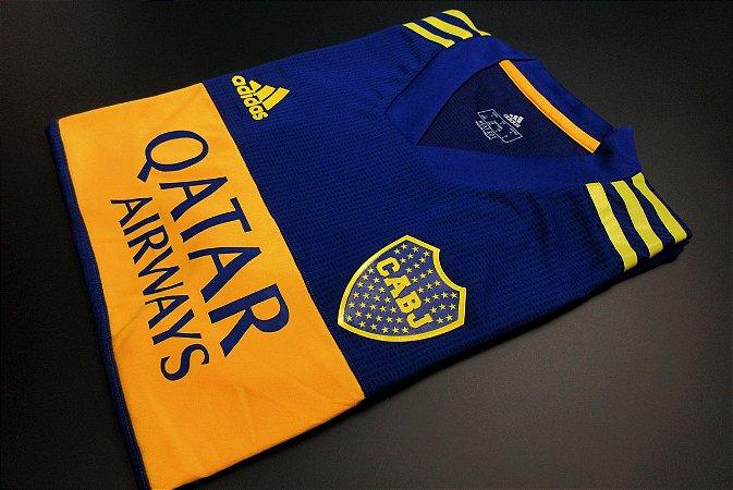 Camisa Boca Juniors 2020-21 (Home-Uniforme 1) - Modelo Jogador