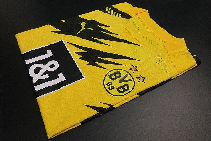 Camisa Borussia Dortmund 2020-21 (Home-Uniforme 1) - Modelo Jogador