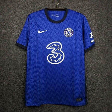 Camisa Chelsea 2020 21 Home Uniforme 1 Torcedor Acervo Das Camisas