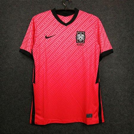 Camisa Coréia do Sul 2020-21 (Home-Uniforme 1) - Torcedor