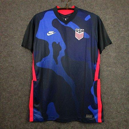 Camisa EUA 2020-21 (Away-Uniforme 2) - Modelo Torcedor