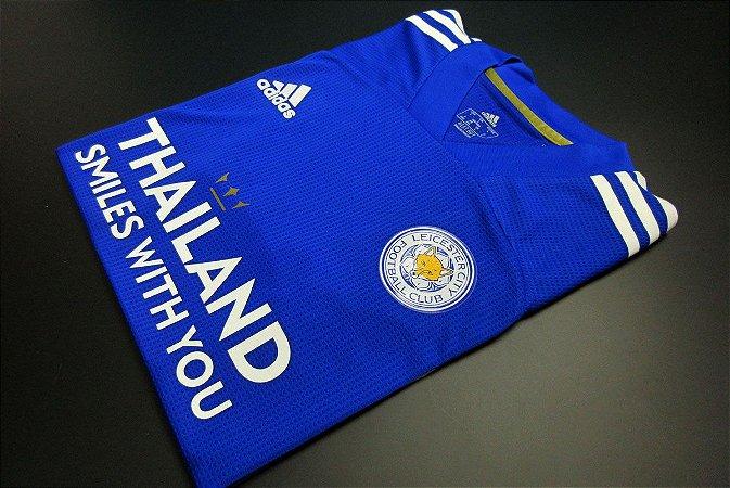 Camisa Leicester City 2020-21 (Home-Uniforme 1) - Modelo Jogador