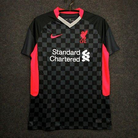 Camisa Liverpool 2020-21 (Third-Uniforme 3) - Modelo Torcedor