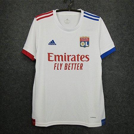 Camisa Lyon 2020-21 (Home-Uniforme 1)