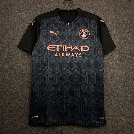 Camisa Manchester City 2020-21 (Away-Uniforme 2) - Modelo Torcedor