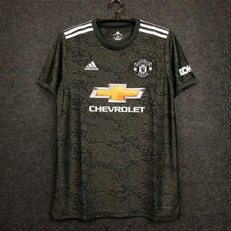 Camisa Manchester United 2020-21 (Away-Uniforme 1) - Modelo Torcedor