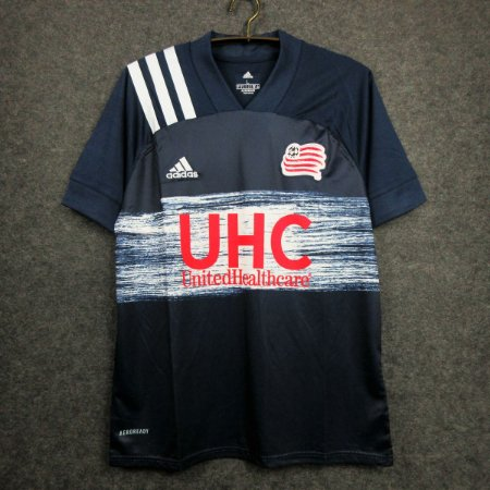 Camisa New England Revolution 2020-21 (Home-Uniforme 1) - Modelo Torcedor