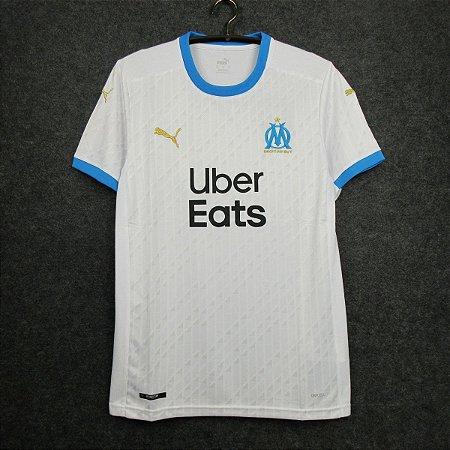 Camisa Olympique Marseille 2020-21 (Home-Uniforme 1) - Modelo Torcedor