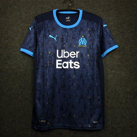 Camisa Olympique Marseille 2020-21 (Away-Uniforme 2) - Modelo Torcedor