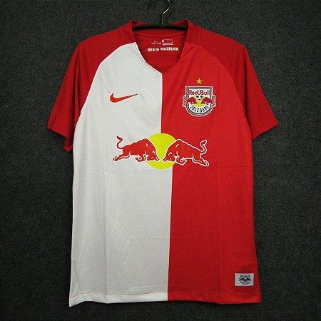 Camisa Red Bull Salzburg 2020-21 (Home-Uniforme 1) - Modelo Torcedor