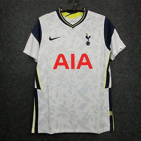 Camisa Tottenham Hotspur 2020 21 Home Uniforme 1 Modelo Torcedor Acervo Das Camisas