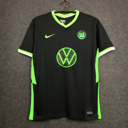 Camisa Wolfsburg 2020-21 (Away-Uniforme 2)
