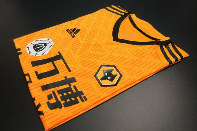Camisa Wolverhampton (Wolves) 2020-21 (Home-Uniforme 1) - Modelo Jogador