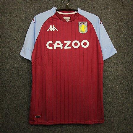 Camisa Aston Villa 2020-21 (Home-Uniforme 1)