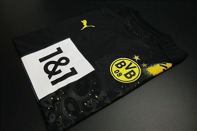 Camisa Borussia Dortmund 2020-21 (Away-Uniforme 2) - Modelo Jogador