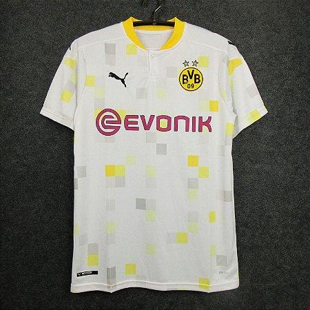 Camisa Borussia Dortmund 2020-21 (Third-Uniforme 3) - Modelo Torcedor