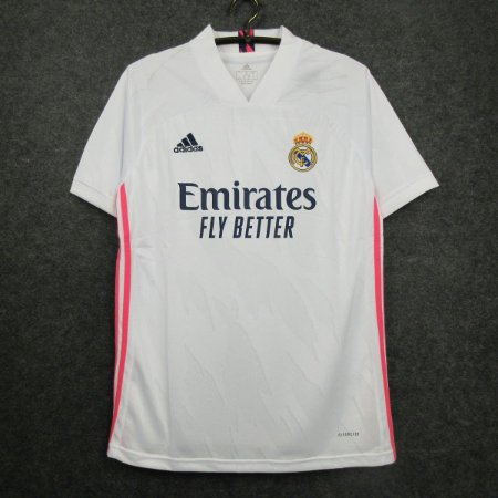 Camisa Real Madrid 2020-21 (Home-Uniforme 1) - Modelo Torcedor
