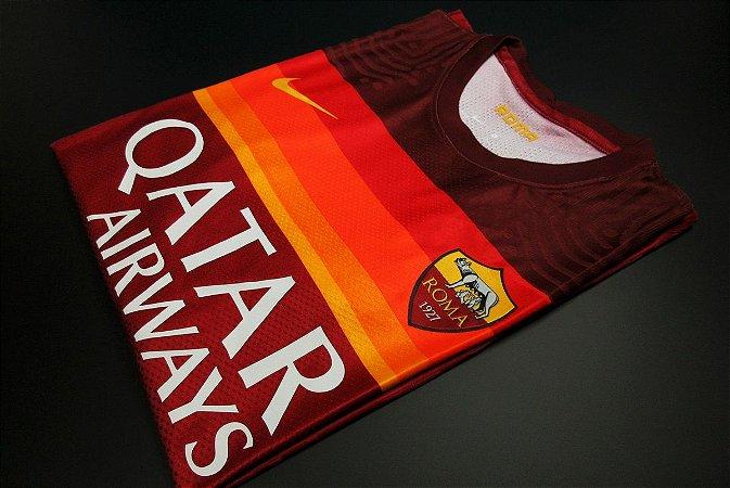 Camisa Roma 2020-21 (Home-Uniforme 1) - Modelo Jogador
