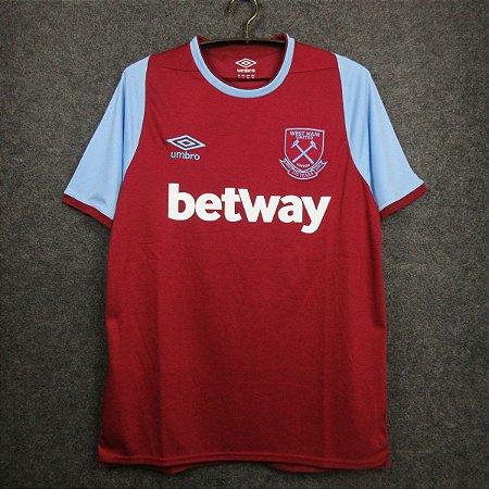 Camisa West Ham 2020-21 (Home-Uniforme 1)