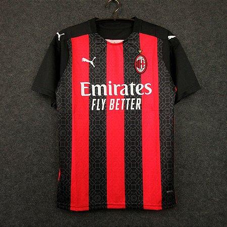 Camisa Milan 2020-21 (Home-Uniforme 1)