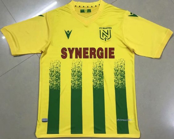 Camisa Nantes 2020-21 (Home-Uniforme 1)