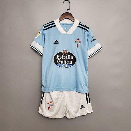Conjunto Infantil (Camisa + Shorts) Celta de Vigo 2020-21 (Home-Uniforme 1)