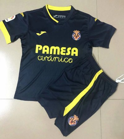 Conjunto Infantil (Camisa + Shorts) Villarreal 2020-2021 (Away-Uniforme 2)