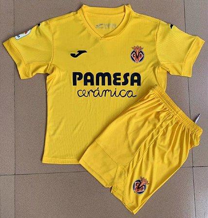 Conjunto Infantil (Camisa + Shorts) Villarreal 2020-2021 (Home-Uniforme 1)
