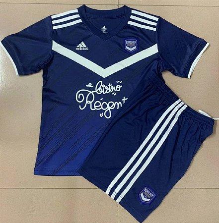 Conjunto Infantil (Camisa + Shorts) Bordeaux 2020-2021 (Home-Uniforme 1)