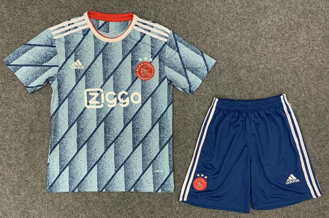 Conjunto Infantil (Camisa + Shorts) Ajax 2020-2021 (Away-Uniforme 2)