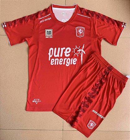 Conjunto Infantil (Camisa + Shorts) Twente 2020-2021 (Home-Uniforme 1)