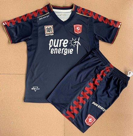 Conjunto Infantil (Camisa + Shorts) Twente 2020-2021 (Away-Uniforme 2)