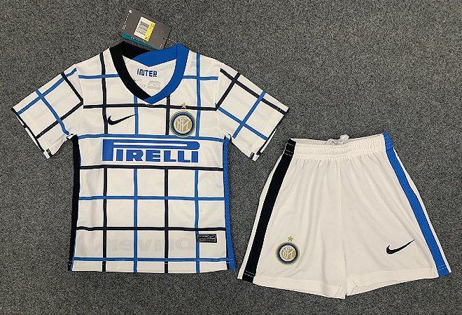 Conjunto Infantil (Camisa + Shorts) Internazionale 2020-2021 (Away-Uniforme 2)