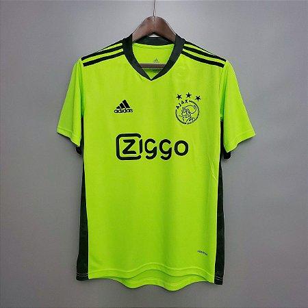 Camisa Ajax 2020-21 (goleiro) - Modelo Torcedor