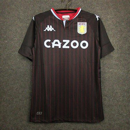Camisa Aston Villa 2020-21 (Away-Uniforme 2)