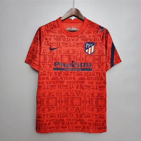 Camisa Atlético de Madrid (treino- 1) 2020-21