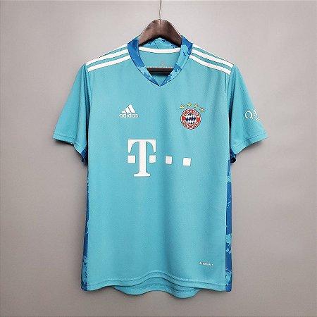 Camisa Bayern Munich 2020-21 (goleiro-azul)