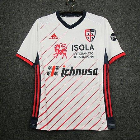 Camisa Cagliari 2020-21 (Away-Uniforme 2)