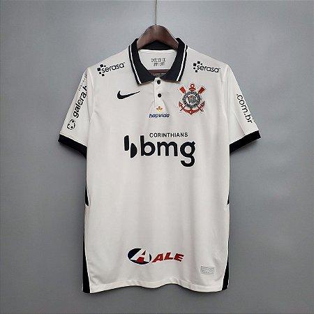 Camisa Corinthians 2020-21 (Uniforme 1)  - com todos patrocínios
