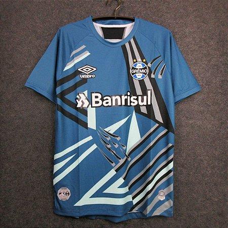 Camisa Grêmio 2020-21 (goleiro) - Azul