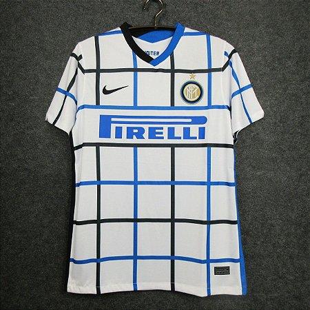 Camisa Internazionale 2020-21 (Away-Uniforme 2) - Modelo Torcedor