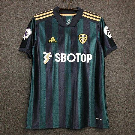 Camisa Leeds United 2020-21 (Away-Uniforme 2)
