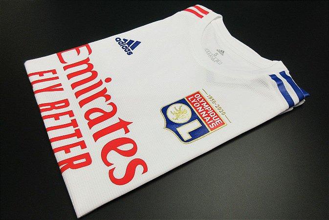 Camisa Lyon 2020-21 (Home-Uniforme 1) - Modelo Jogador