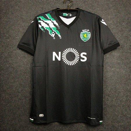 Camisa Sporting 2020-21 (Away-Uniforme 2)