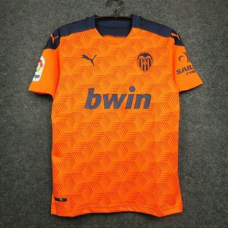 Camisa Valencia 2020-21 (Away-Uniforme 2)