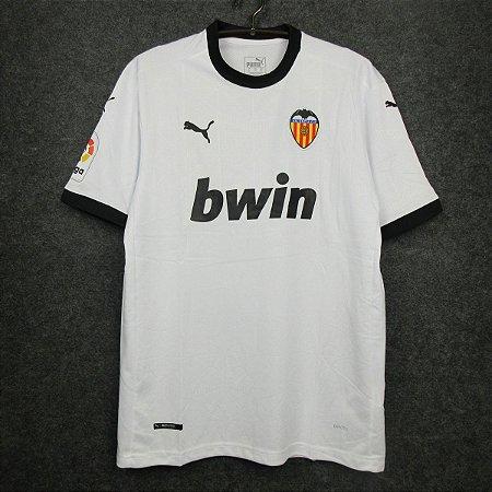 Camisa Valencia 2020-21 (Home-Uniforme 1)