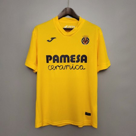 Camisa Villarreal 2020-21 (Home-Uniforme 1)