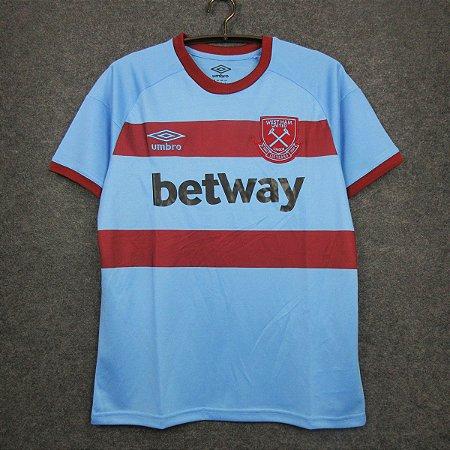 Camisa West Ham 2020-21 (Away-Uniforme 2)