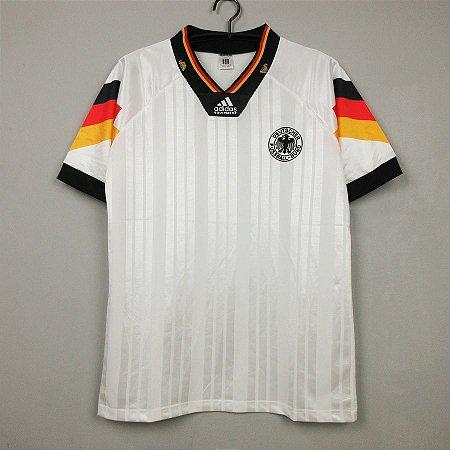 Camisa Alemanha 1992 Eurocopa (Home-Uniforme 1)